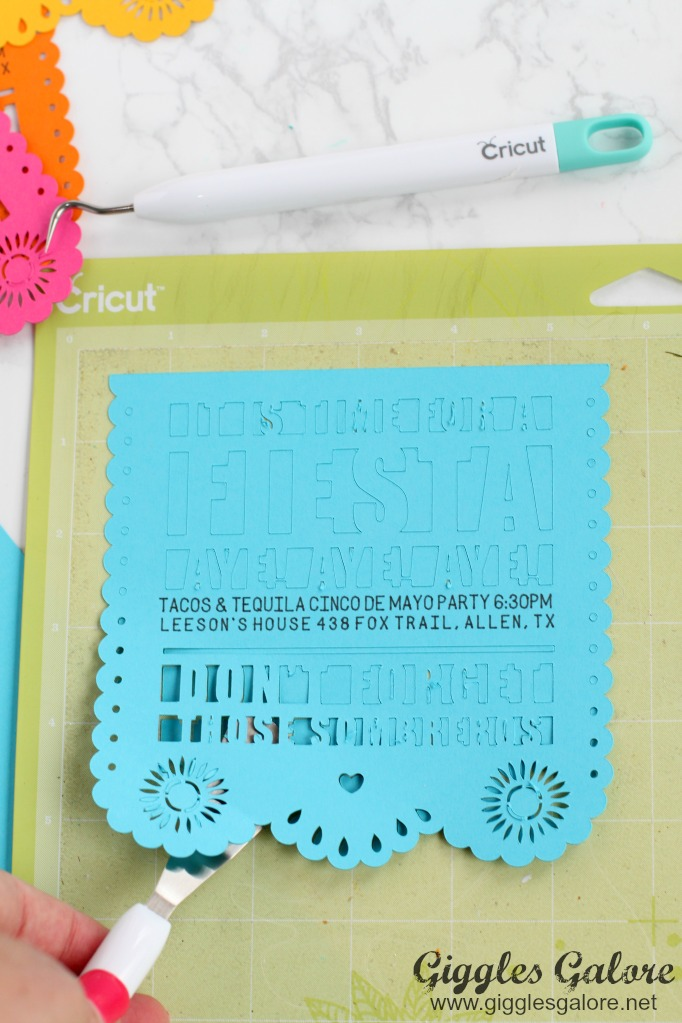 DIY Fiesta Invitation for Cinco de Mayo Giggles Galore