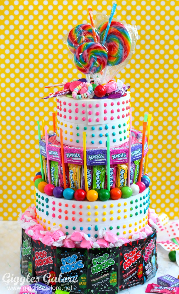 How To Make A No Bake Candy Birthday Cake