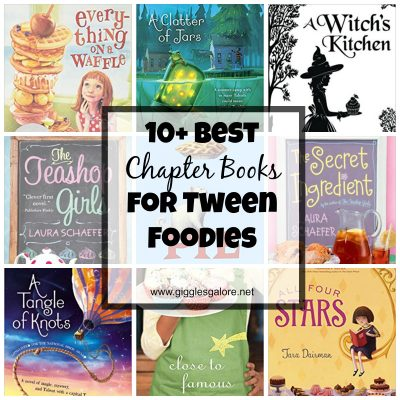 10+ Chapter Books for Tween Foodies