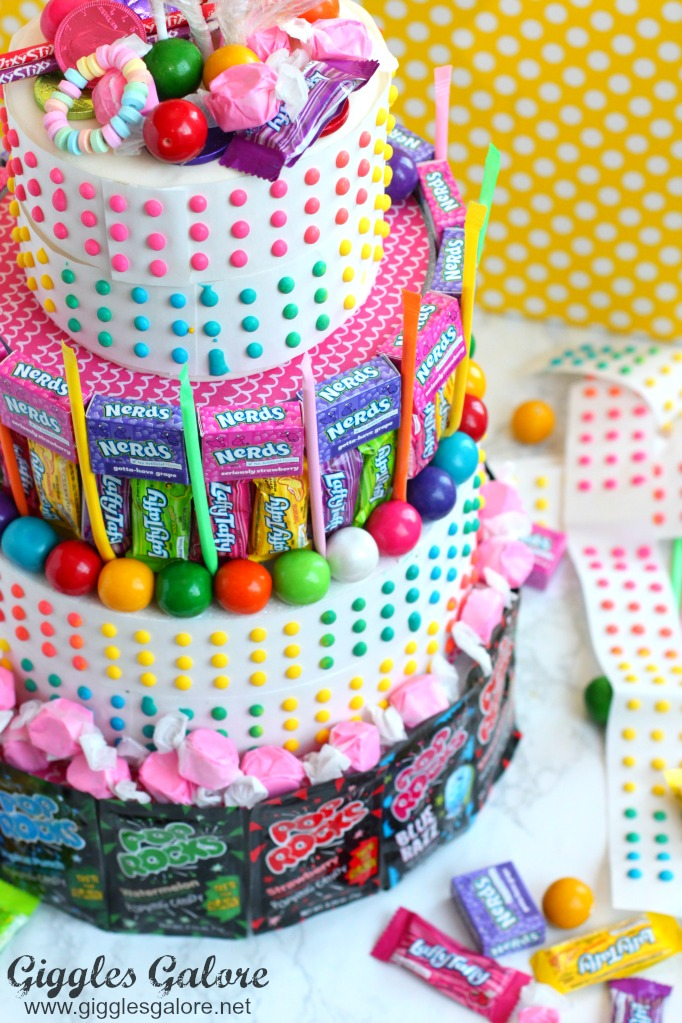 Nerds Candy Birthday Cake