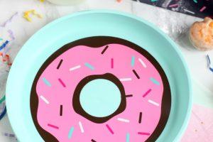 DIY Donut Plates