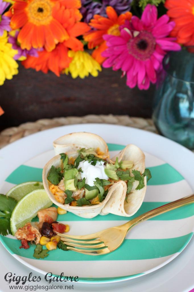 Fiesta Chicken Taco Cups by Mariah Leeson