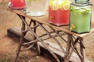 20 Fun Summer BBQ Food & Drink Stations