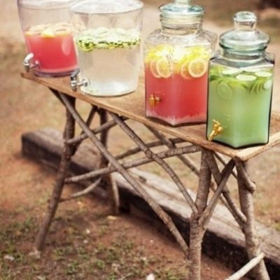 20 Fun Summer BBQ Food & Drink Stations