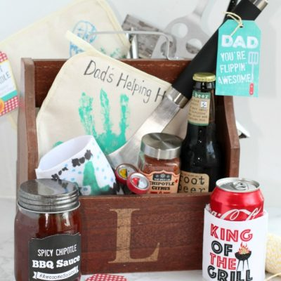 Father's Day Grilling Caddy Gift