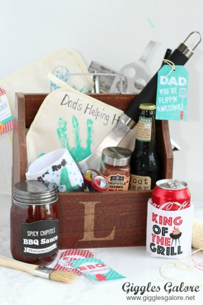 Fathers day bbq caddy gift idea