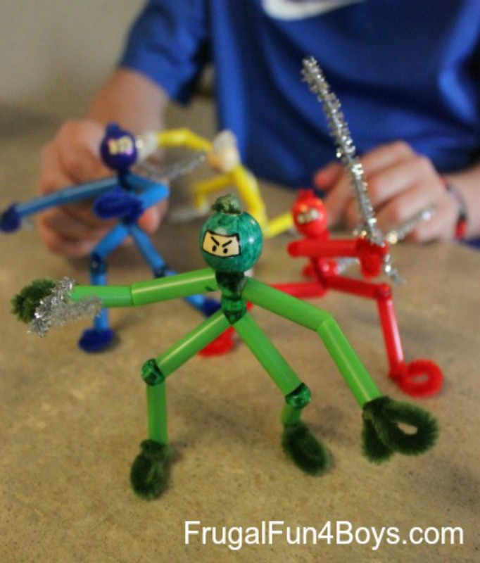 Frugal Fun for Boys, 20 Summer Crafts for Boys