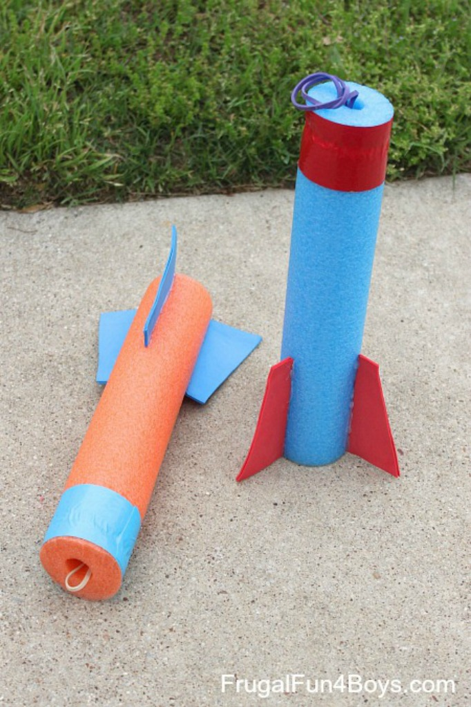 Frugal Fun for Boys, 20 Summer Crafts for Boys