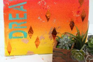 Mixed Media Dream Canvas Art