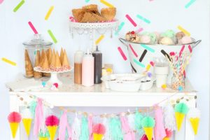 Simple Summer Ice Cream Social