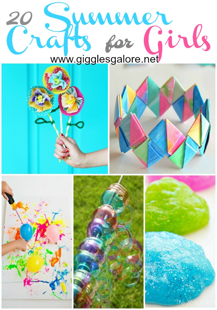 20 Fun Diy Summer Craft Projects For Girls