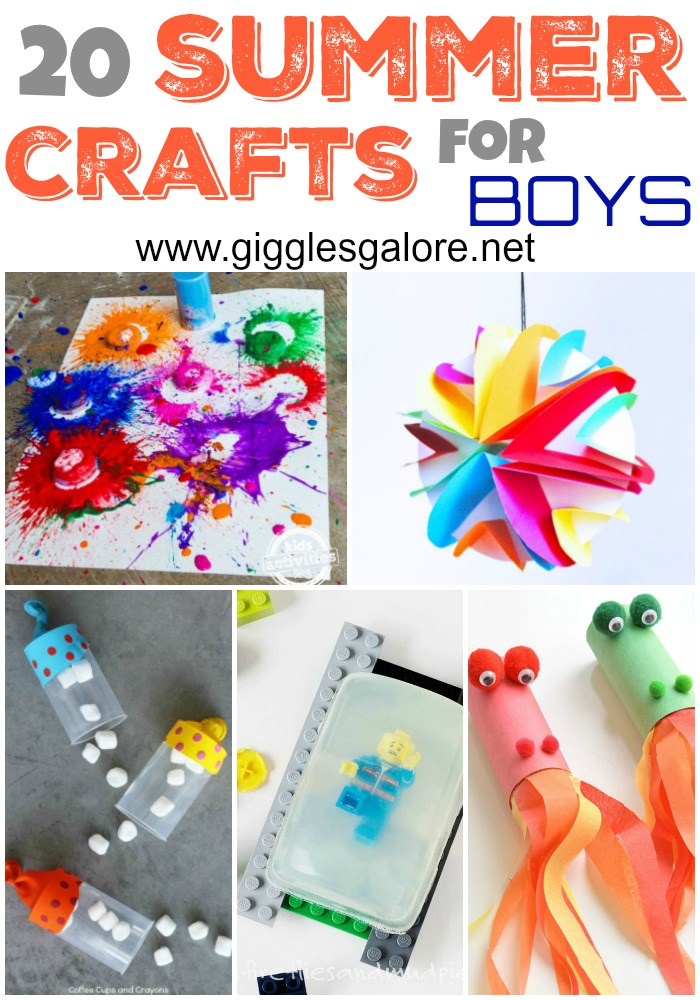 20 Fun Diy Summer Craft Projects For Boys