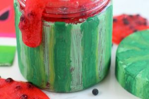 Easy watermelon slime recipe
