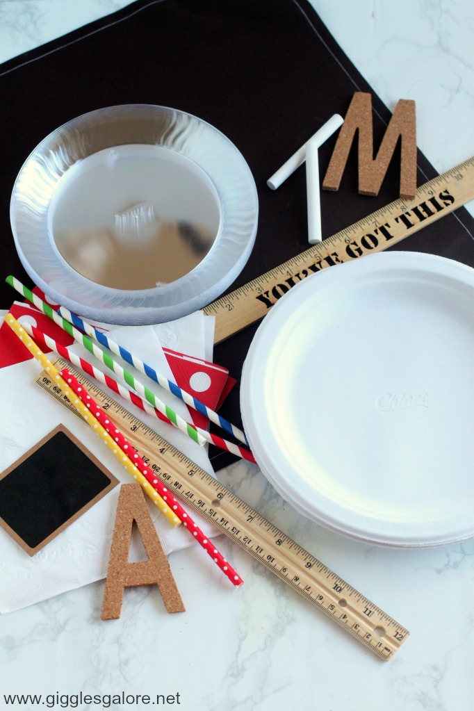 Once you\u0027ve created these fun notebook themed paper plates you will need something yummy to serve for breakfast. Pencil shaped waffles are just what these ... & Back to School Breakfast Notebook Paper Plates - Giggles Galore