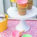 Easy Vintage Inspired Ice Cream Party