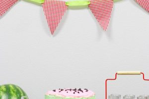 Simple Summer Watermelon Party