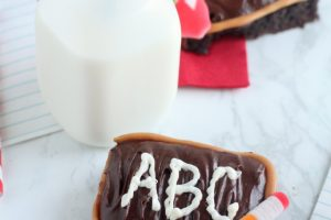 Back to School Chalkboard Brownies