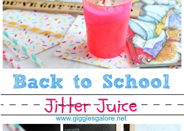 Back to school jitter juice giggles galore