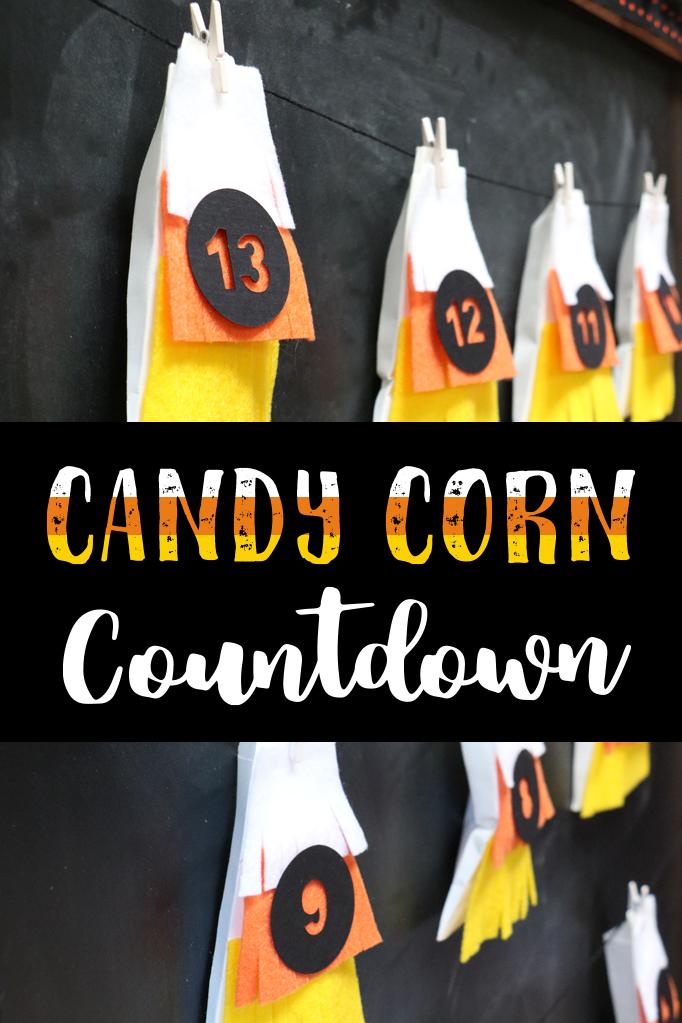 Halloween Candy Corn Countdown