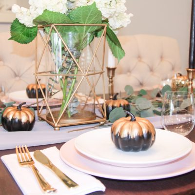 Transitional Neutral Fall Tablescape