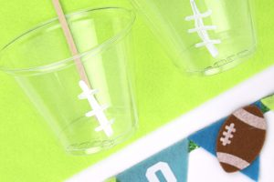 Football Flag Stirrers and Cups