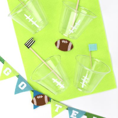Easy Football Party Crafts