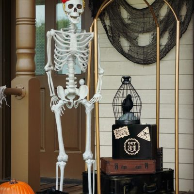 Haunted Hotel DIY Luggage Cart