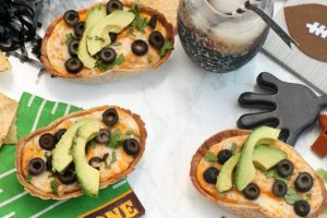 Loaded Texas Trash Taco Dip Boats