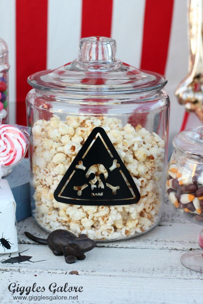 Carnevil popcorn