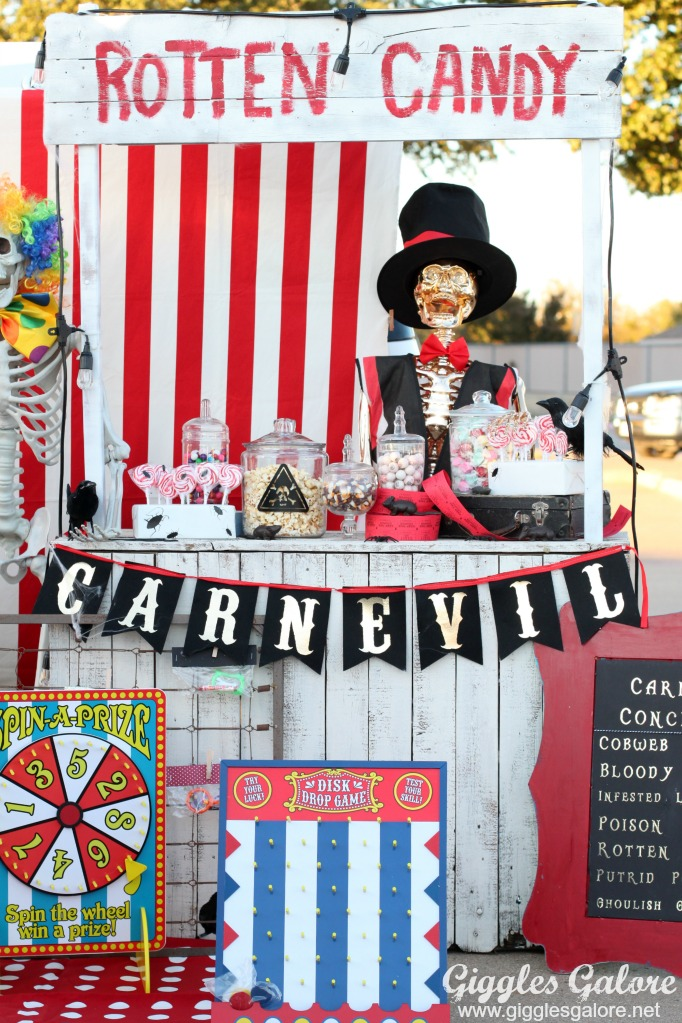 CarnEvil Trunk or Treat Ideas
