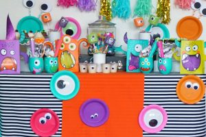 Colorful Halloween Monster Mash Party