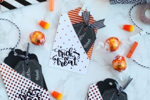DIY Halloween Gift Card Tags