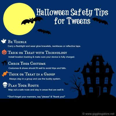 Halloween Safety Tips for Tweens