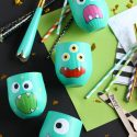 Halloween Monster Party Cups