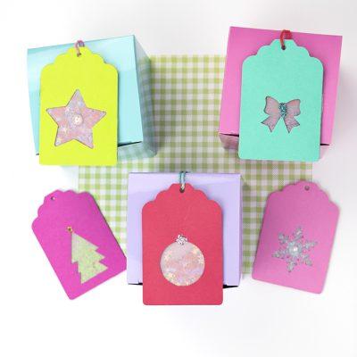 Confetti Christmas Gift Tags
