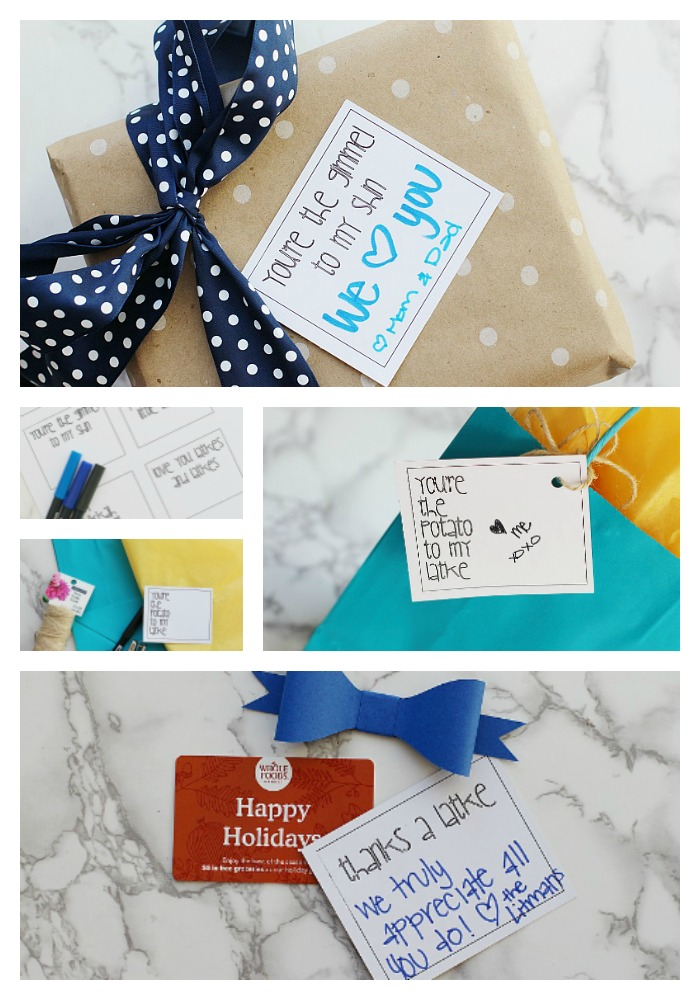 Witty hanukkah gift tags with free printable giggles galore grab yourself a copy of these free hanukkah gift tag printables you can turn them solutioingenieria Choice Image