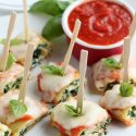 Mini Lasagna Roll-up Appetizers for Holiday Entertaining