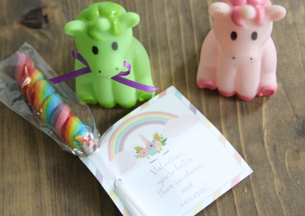 Everyday Party Magazine Unicorn Valentine's Day Printables
