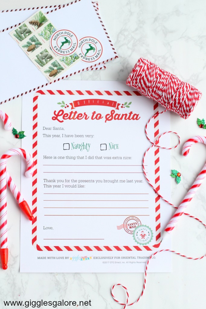 Diy letter to santa felt envelope giggles galore i create a fun dear santa letter writing kit for oriental trading and i think these cute felt envelopes would be a great addition to include in the kit spiritdancerdesigns
