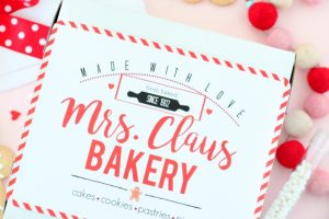 Mrs. Claus Bakery Kit