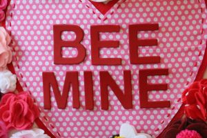 Bee Mine Valentine Tote Bag