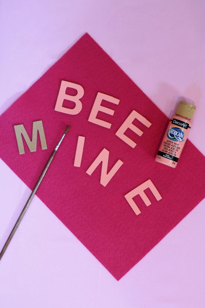Bee Mine Valentine Tote