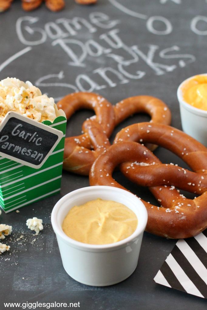 Game day pretzels