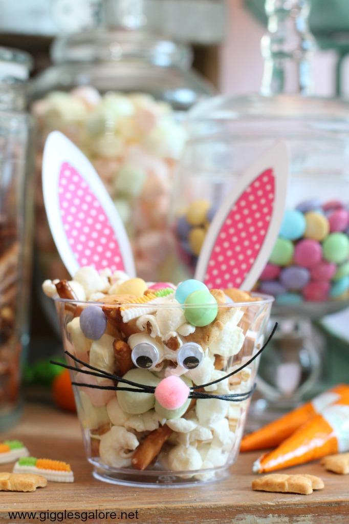 Bunny Bait Snack Mix | Easter Bunny Themed Treat Idea by Mariah Leeson