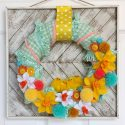 Colorful Easter Wreath