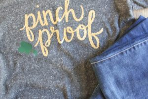 Pinch Proof Shirt DIY and Free SVG File