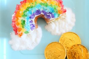 Rock Candy Rainbow Donuts