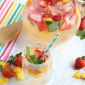 Mango Strawberry Sparkling Lemonade