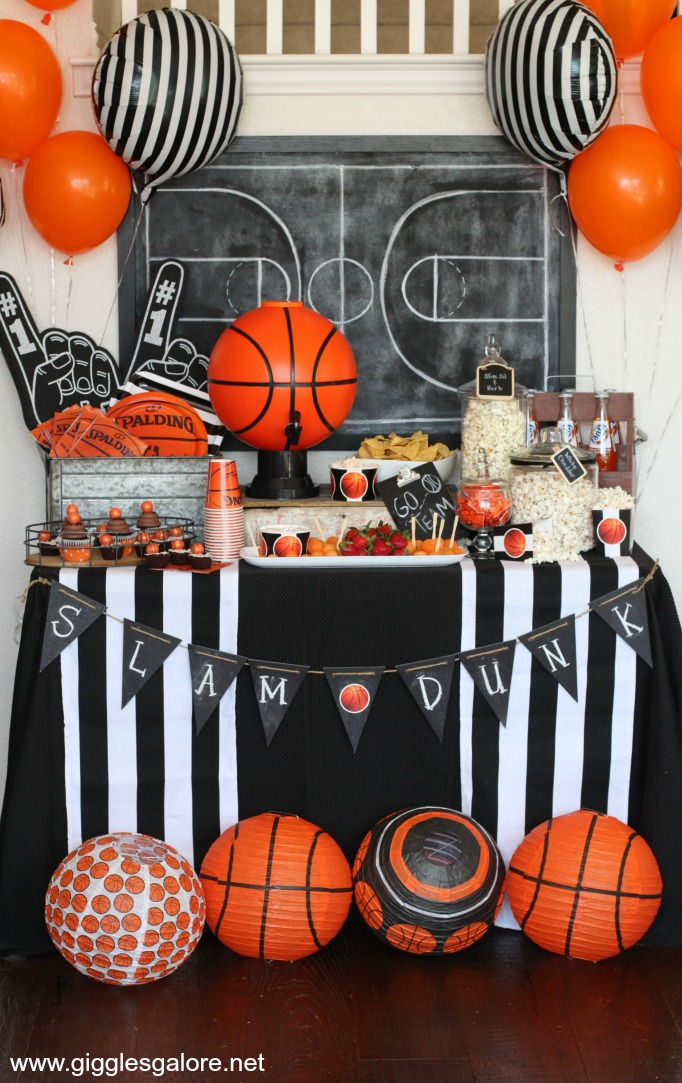 march madness basketball party giggles galore