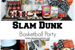 Slam Dunk Basketball Party